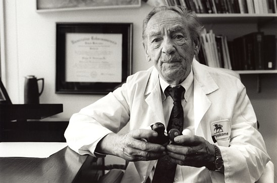 The Foundation's Founder, Nobel Laureate, Dr. George H. Hitchings